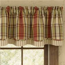 Park Designs Saffron Heartfelt Lined Layer Valance Breakfast Nook Curtains