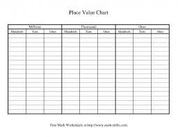 Place Value Maths 2nd Grade Free For 1st Printable Math Worksheets ...