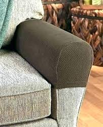 armchair arm covers. Couch Arm Covers Armchair Chair Leather Set Of 2 Stretch Sofa Armrest Canada