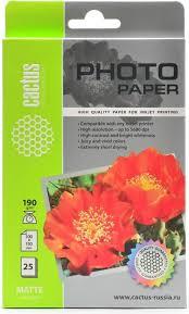 <b>Cactus CS</b>-<b>MA619025 A6</b>/190г/м2 матовая <b>фотобумага</b> для ...