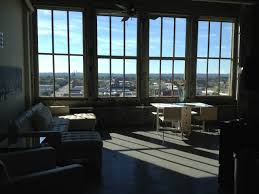 downtown lexington loft living:  derby ph loft picturesque view louisville loft