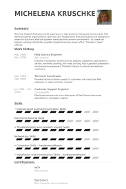 It Field Engineer Sample Resume 7 Field Service Engineer Resume Samples