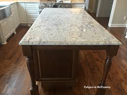 calypso in the country kitchen renovation progress calypso in the country  kitchen renovation progress from white ice granite ...