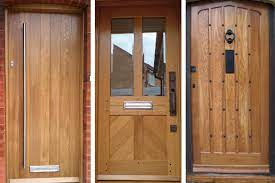 wooden front doors high quality