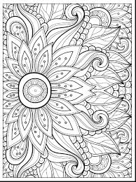 Free Spring Flower Coloring Pages Printable Coloring Page For Kids