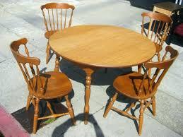 round oak kitchen table oak kitchen table set sets blower dark round wood all sold in