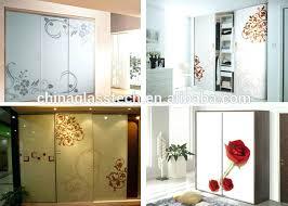 sliding glass door wardrobes amazing of glass door designs for bedroom safe never fading decorative tempered