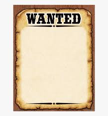 Clip Art Old West Wanted Posters Western Blank Wanted