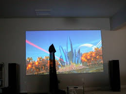 projector wall paintA Home Theater Projector Screen for Any Budget  Carlton Bale com