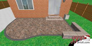 Coolest Simple Patio Designs With Pavers J70S About Remodel Simple