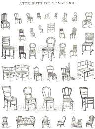 kinds of furniture styles. Vintage French Furniture Book Illustrations Of Chairs Beds From Drawings Different Types . Styles And Kinds S