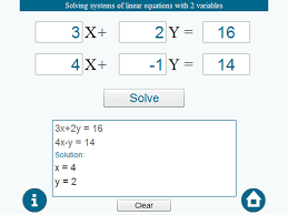system of linear equations solver and calculator image 1