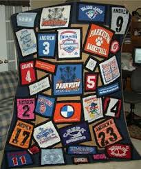 T Shirt Quilt - use scraps to make coordinating band around the ... & t shirt quilt pattern | The Quilting Booklady: T-Shirt Quilts Adamdwight.com