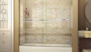 tub best kohler glass shower menards corner maax enclosures basco hinged sliding rollers tubshower frameless