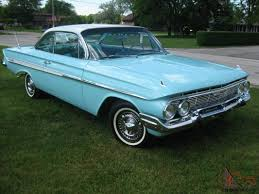 Chevrolet Chevy Impala Super Sport SS 409 61 Bubbletop 62 63 64 60 ...