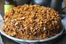 This recipe is a sponsored post written by me on behalf of atkins. Blum S Coffee Crunch Cake Karen S Kitchen Stories