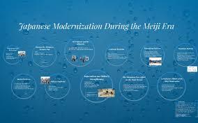Japanese Modernization During The Meiji Era By Prezi User On