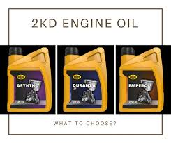 What is the best engine oil for a 2kd Toyota Hilux with a diesel ...