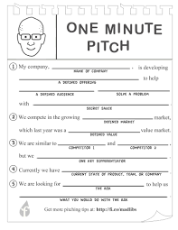 pitch document template pitch deck guide templates and examples for pitching to investors