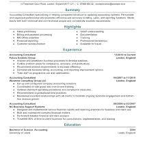 Consultant Resume Example Amazing Management Consultant Resume Sample Management Consulting Resume