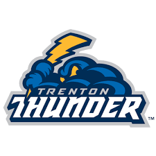 the logo of the Trenton Thunder baseball team.