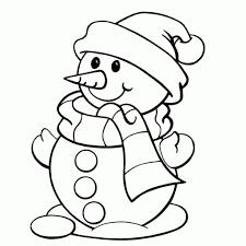Simpele Kleurplaat Winter Kerst Nieuwe Kleurplaat Kerstboom Peuters