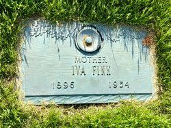 Iva Copenhaver Fink (1896-1954) - Find A Grave Memorial