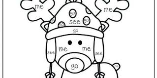 Kindergarten Sight Word Coloring Pages Free Design And Ideas Page