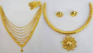 latest gold necklace designs in 15 grams with