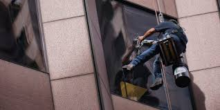 high rise window cleaning in miami
