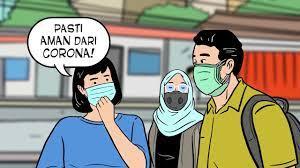 Gambar kartun orang pakai masker. Masker Jangan Lebay Youtube
