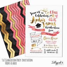 Design Your Own Graduation Invitations Design Your Own Graduation Announcement Etsy Printable Graduation