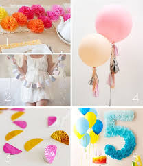 awesome diy decoration ideas for birthday parties