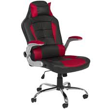 Office Chair Leather Bcp Deluxe Ergonomic Racing Style Pu Leather Office Chair Swivel