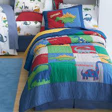 dino land quilt bedding set