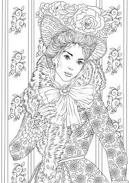 Fancy Outfit Printable Adult Coloring Page From Favoreads