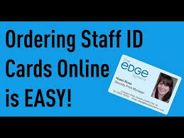 Make Your Own Identification Card Staff Id Cards And Id Badges Uk Free Uk P P Id Cards