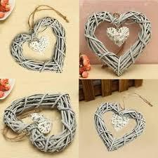 <b>Wicker Heart</b> Wreath Valentines Day Decoration Wedding Wall ...