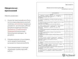 Презентация на тему Оформление курсовой работы Курсовая работа  14 Оформление приложений Приложение 1 Оценка