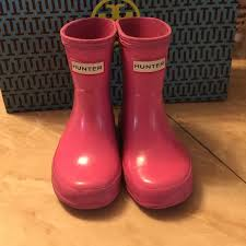 hunter boots size 6 hunter shoes pink boots for toddler size 6 girl poshmark
