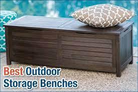 10 best outdoor storage benches ideas