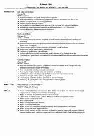 Cnc Operator Job Descriptions Best Of Maker Resume Samples | Abcom
