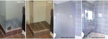 dirty shower glass photo s of before glass restoration glass protection and after glass restoration