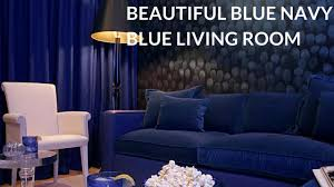 Cobalt blue living room ideas 2018 Cool Down Your Design With Blue