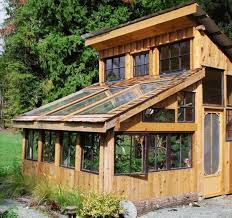 shed and greenhouse combo plans