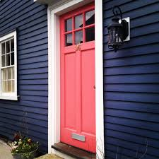 Coral Color Combinations The Very Best Offront Door Colors Coral White Trim And Navy