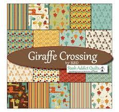 Crossing Fat Quarter Bundle & Giraffe Crossing Fat Quarter Bundle Adamdwight.com