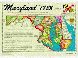 「1788, maryland states ratified the us constitution」の画像検索結果