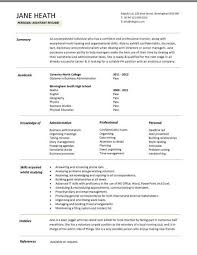 Student Resumes Templates