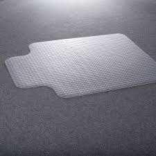 costzon 36 x48 pvc home office chair floor mat studded back with lip for